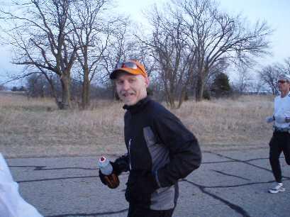 Jim on the run